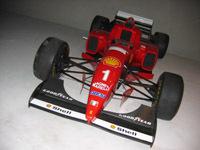 Une Ferrari F1 mise à contribution pour le Téléthon