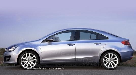 Rumeurs : VW travaillerait à une Golf CC et une Passat CC SW