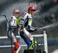 Moto GP -Japon : Rossi voit une partie carrée pour le titre