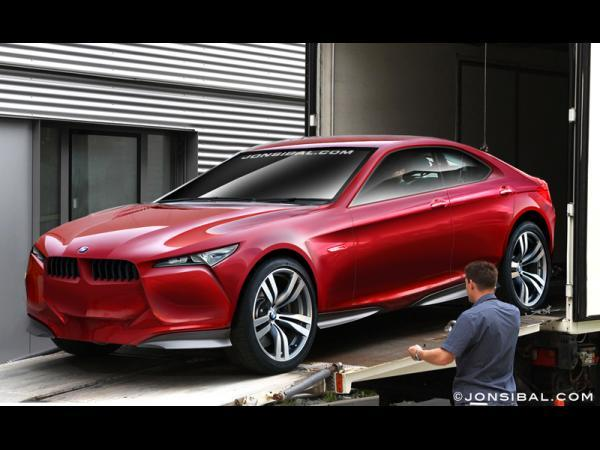 Concept Mystère BMW : pas le Vision ED, mais le futur GT6