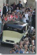 Une Rolls Royce d'avant-guerre pour le mariage de Delphine Arnault