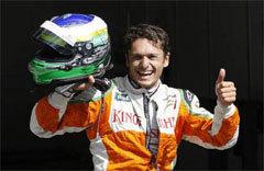 Ferrari F1 : Fisichella sera aussi pilote de réserve en 2010