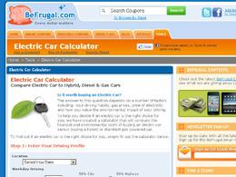 Le calcul de la consommation de carburant et des rejets de CO2 réels proposé par le site Internet américain BeFrugal.com