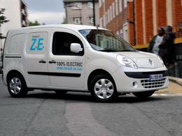 Le Renault Kangoo ZE élu utilitaire international 2011