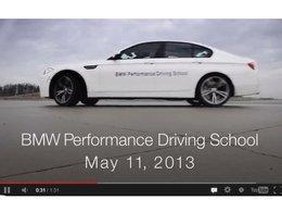 BMW tente de battre le record du plus long drift (vidéo)