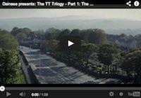TT, la trilogie vue par Dainese: épisode 1, the island