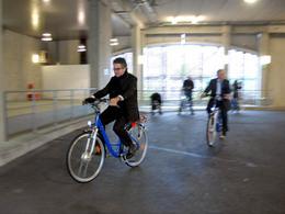 Vous pouvez louer des vélos à assistance électrique à Poitiers