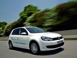 Salon de Los Angeles 2010 : la Volkswagen Golf blue-e-motion