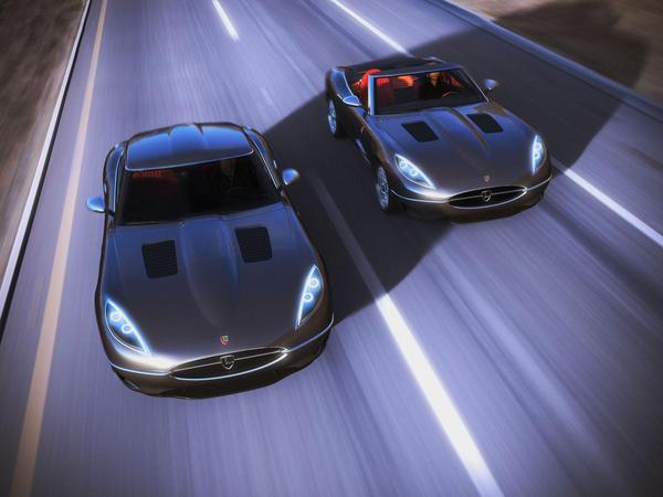 Lyonheart K : une Jaguar Type-E revival à partir de 360 000 euros