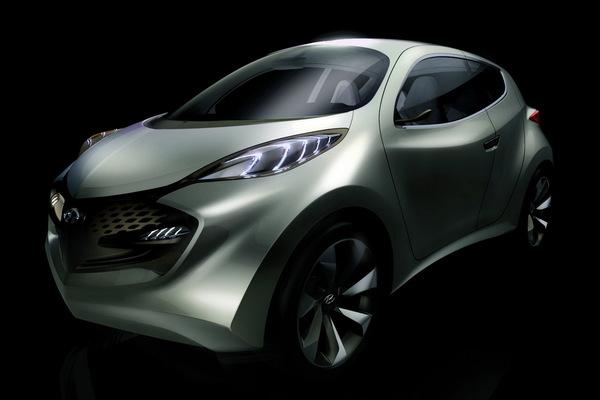 2009 Hyundai Ix Metro Concept. Son nom : ix-Metro.