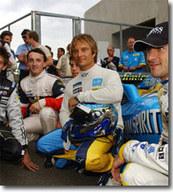 David Hallyday au volant d'une Formule 1