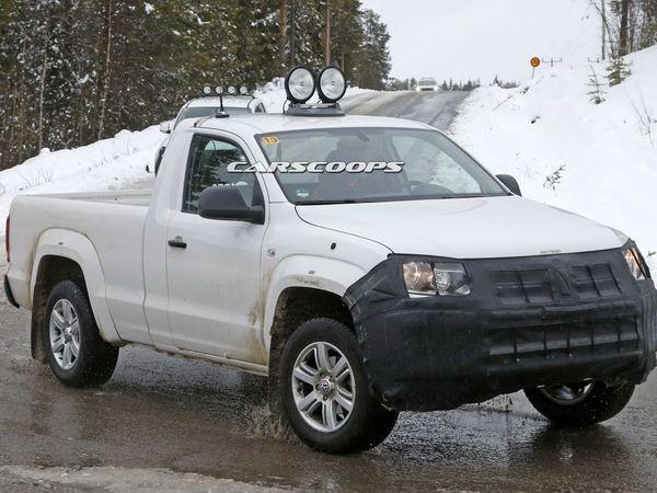 Surprise : des évolutions à venir pour le Volkswagen Amarok