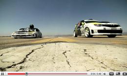 [vidéo] Gymkhana 2.1 : Subaru Drift demie portion