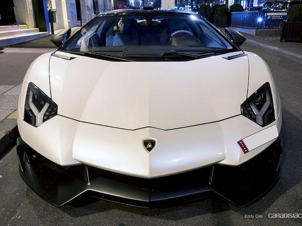 Photos du jour : Lamborghini Aventador Roadster