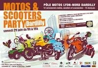 Motos & Scooters Party 2013 : rendez-vous le 29 juin à Dardilly !