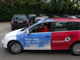 Une Volkswagen Golf Break électrique testée par le fournisseur d'énergie Essent