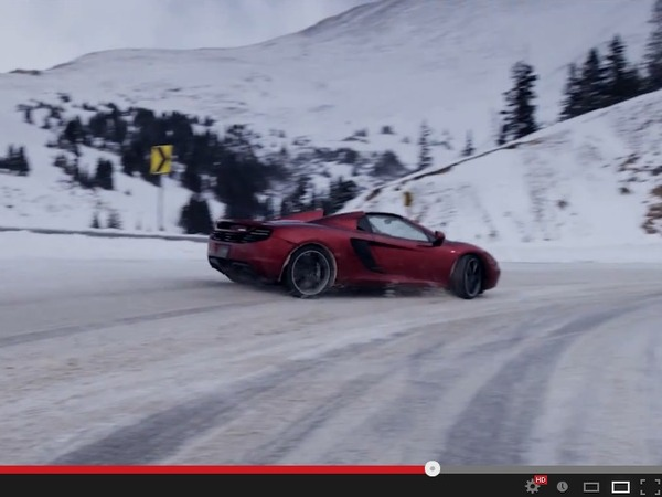 Vidéo - Rhys Millen en McLaren MP4-12C Spider, cette alternative insoupçonnée au télésiège