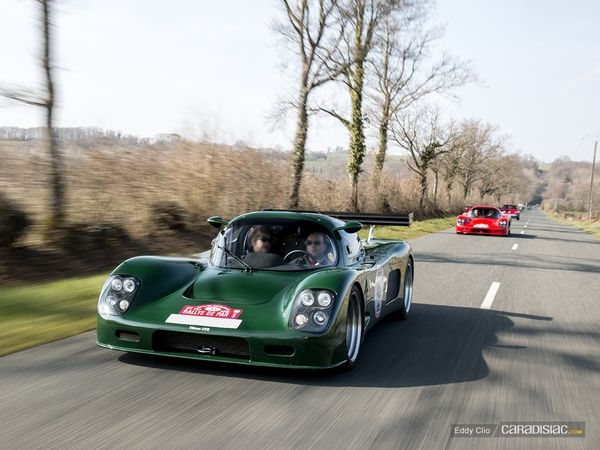 Photos du jour : Ultima GTR (Rallye de Paris)