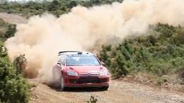 WRC Catalogne et GB : Petter Solberg sur une Citroën C4 WRC