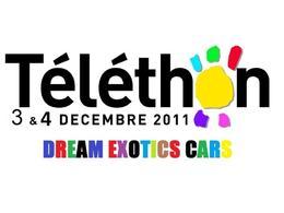 Téléthon 2011: Dream Exotics Cars sort l'artillerie lourde à St-Fargeau Ponthierry !
