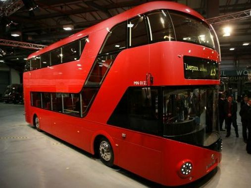 mus e des transports de londres le nouveau bus rouge tage expos. Black Bedroom Furniture Sets. Home Design Ideas