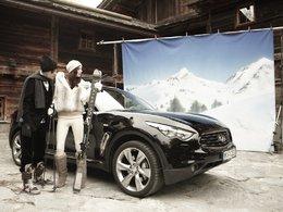 Idées cadeaux pour Noël 2010 : des skis Infiniti/Volant !