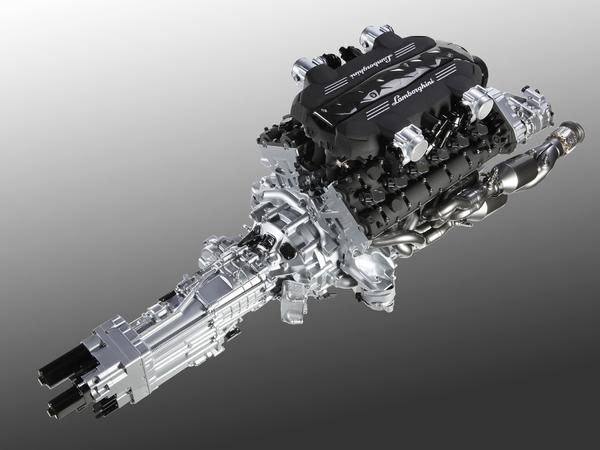 """Officiel - Voici le nouveau V12 Lamborghini : 700 chevaux, 6,5 litres et une boîte de vitesses """"ISR"""""""