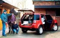 Land Rover Freelander: VU de luxe
