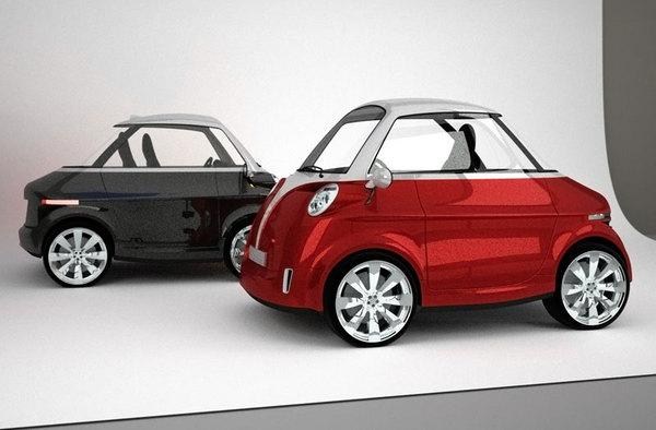 Future BMW Isetta revival : pourquoi pas comme ça ?