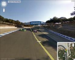 Insolite : Laguna Seca, premier circuit visible sur Google Street View