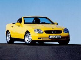 Mercedes SLK : déjà 20 ans