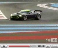 Vidéo : L'aston Martin Vantage GT2 en images