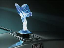 Une Rolls-Royce Phantom électrique à Paris