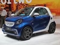 La Smart électrique arrivera en 2016
