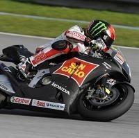 Moto GP - Honda: Le style Simoncelli en images