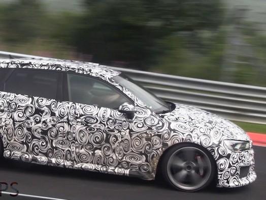 Surprise en vidéo : la future Audi RS3 sur le Nürburgring