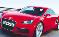 L'Audi R4 en suspens