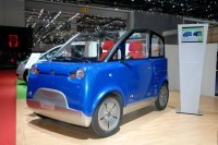Salon de Genève 2008 : le prototype HSR e-Motion, le poids plume électrique !