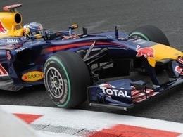 Sebastian Vettel, pur produit Red Bull