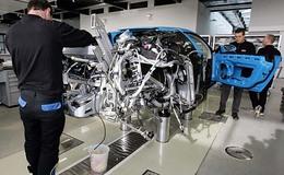 Bugatti Veyron : la production s'accélère. Encore