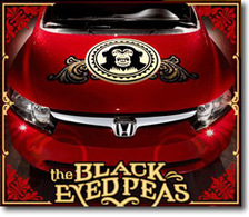 Les Black Eyed Peas vont tourner pour Honda