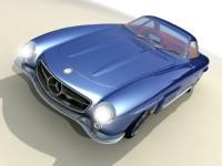 Mercedes 300 SL 1957 by Bo Zolland