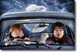 La voiture volante d'Harry Potter s'est vraiment envolée !
