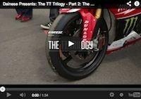 TT, la trilogie vue par Dainese: épisode 2, the race
