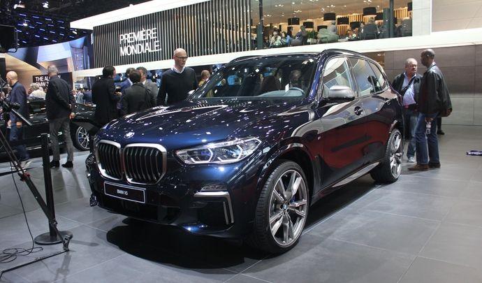 BMW X5 (2018) : les premières images en live