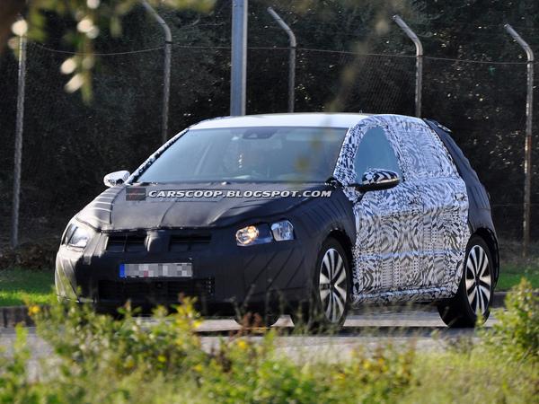 Surprise : ceci est la future VW Golf 7