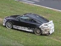 Crash : la prochaine Audi TT RS dans le rail