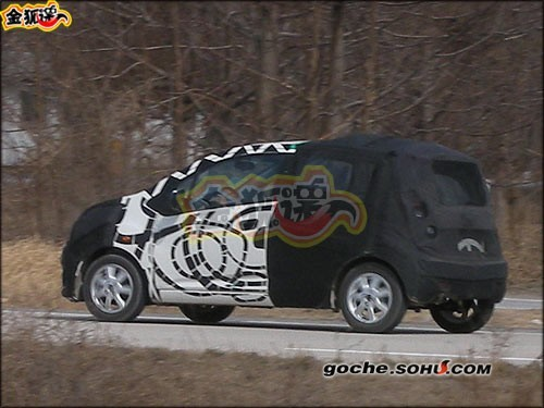 Future Chevrolet Beat/Matiz: première sortie en Chine