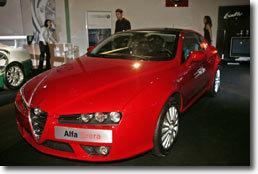 Des stars et des champions pour l'Alfa Romeo Brera