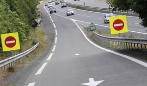 Vidéo: un gendarme évite de justesse un véhicule à contresens sur l'autoroute
